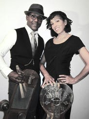 Acoustic duo Piedmont Bluz - husband-and-wife team