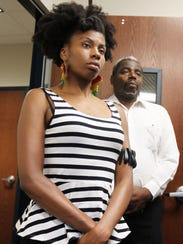 Maya Dixon, who was arrested in a clash with police