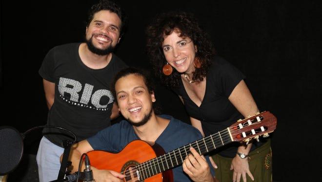 Brazilian trio Choro de La pra Ca will perform Friday at Cornell.