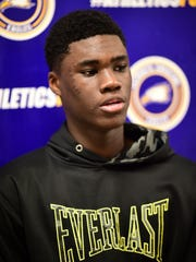Maximus Okolo's parents moved to Michigan from Nigeria.