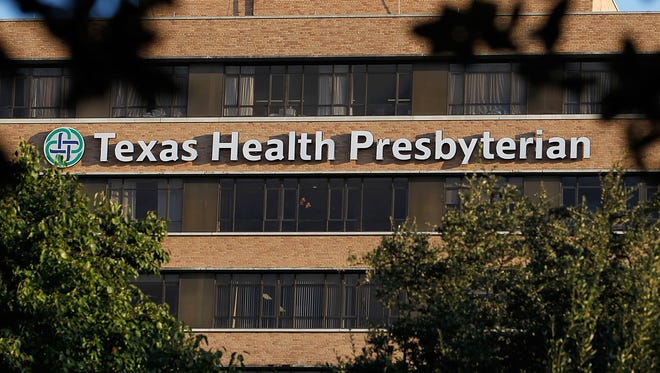 A patient was diagnosed with Ebola on Sept. 30 at Texas Health Presbyterian Hospital Dallas.