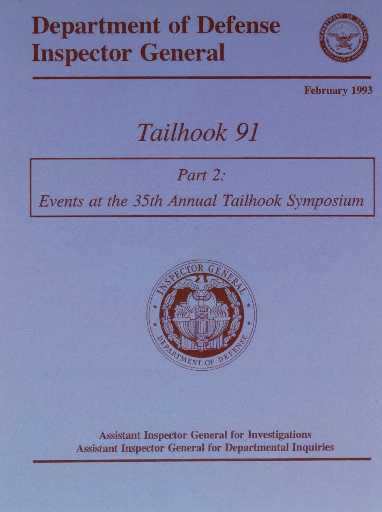 Tailhook scandal sexual harassment
