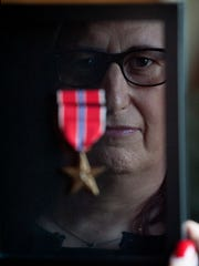 Jennifer Long of Kearny, a veteran with 29 years and 6 months service in the U.S. Army, had new military discharge documents (DD214) issued to her reflecting a name change due to gender change.