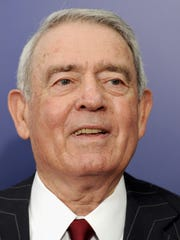 Veteran newsman Dan Rather will be the second speaker