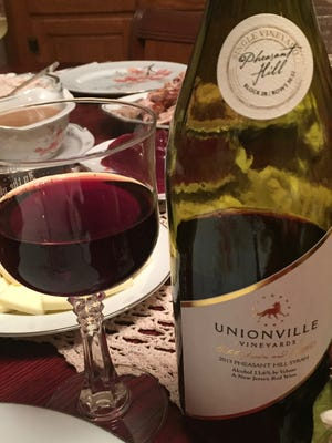 Unionville's 2013 Pheasant Hill Syrah was sampled recently on WineStudio.