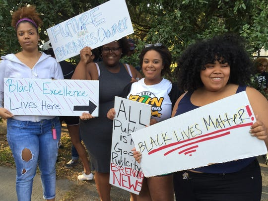 Dillard University students said the administration wasn't responsive to their request to keep former Klansman David Duke off of the historically black college and university campus in New Orleans.