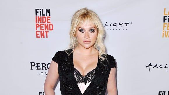 Kesha at the screening of 'Zedd: True Colors' at the