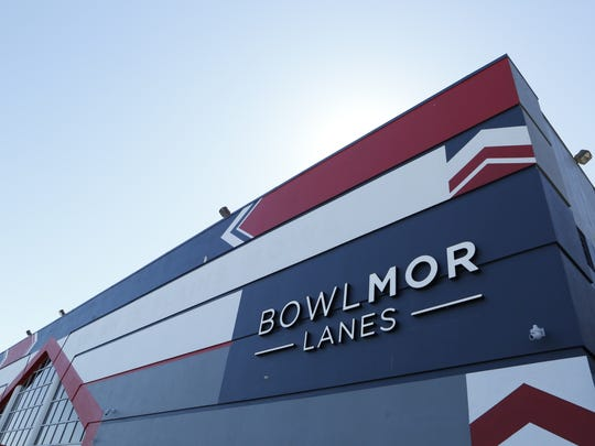 The exterior of Bowlmor Lanes in White Plains. The lanes opened March 25, 2015.