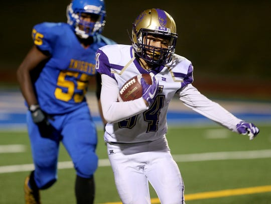 North Kitsap's Clayton Williams finished with 130 rushing