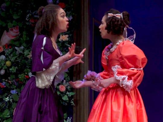 Liz Sierra, left, and Christine Skorupa star in the