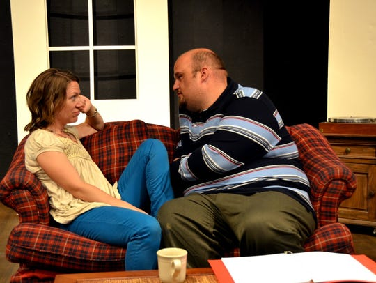 Nora Brown and Josh Taulbee star in Tom Stoppard's