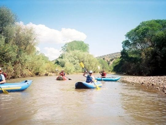 Kayaking is something that people attending the Gila River Festival can do during the week of Sept. 19-22 in Silver City.