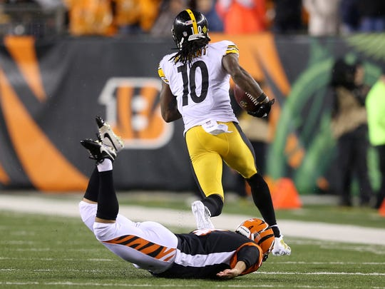 Pittsburgh Steelers wide receiver Martavis Bryant (10)