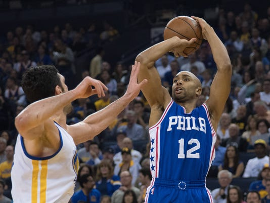 NBA: Philadelphia 76ers at Golden State Warriors