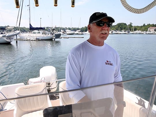 Mike Foley, with the Sodus Bay Junior Sailing Association, says boat traffic from Canada is down.