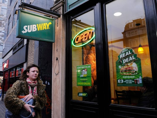 Subway Yoga Mat Chemical Almost Out Of Bread