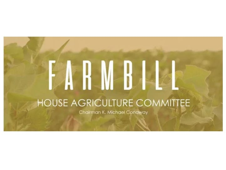 The House passed a farm bill Thursday, June 21, 2018.