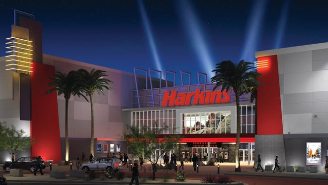 Goodyear movie-goers will be treated to the ultimate in comfort and state-of-the art quality when Harkins Estrella Falls 16 opens in spring 2016.