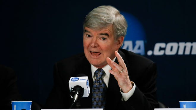 NCAA president Mark Emmert.