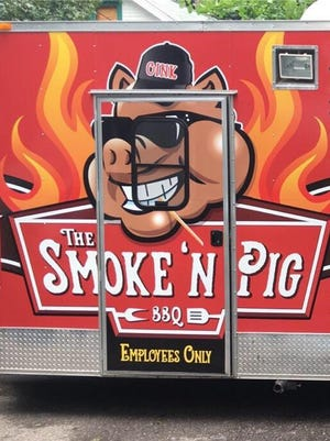 "Smoke 'N Pig BBQ food truck will be at the ""Celebrate Meridian"" Food Truck Rally June 30 in Meridian Township."