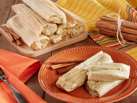 Cinnamon tamales from Food City.