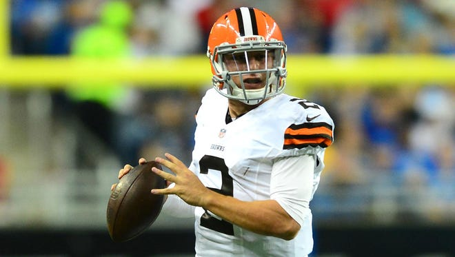 Cleveland Browns quarterback Johnny Manziel will play in his second preseason game Monday against the Washington Redskins.