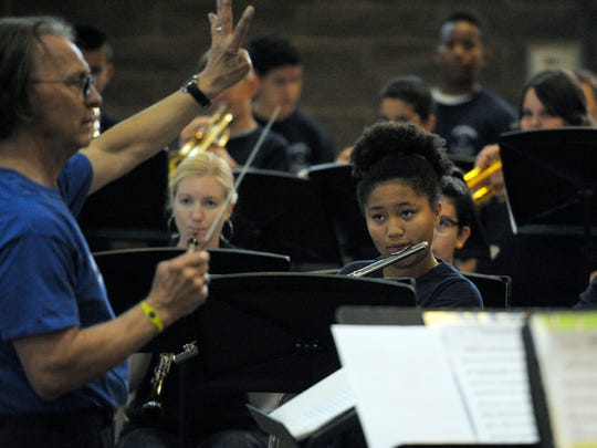 The St. Aloysius Summer Music Workshop ended with a concert Friday. The students performed a variety of music for an audience inside the St. Aloysius Catholic Church during the concert.