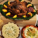 "Mario's in Midtown Detroit offers a ""Thanksgiving To-Go"" dinner, which includes a 14-pound turkey, green beans, holiday stuffing, candied yams, mashed potatoes, and more."