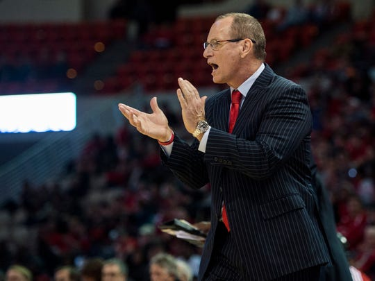 UL coach Bob Marlin, shown here working the sideline against UL Monroe earlier this season, has his Cajuns in the CIT again.