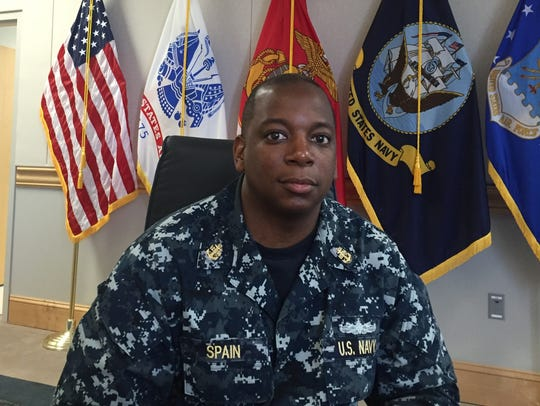Navy Chief Petty Officer Terry Spain.