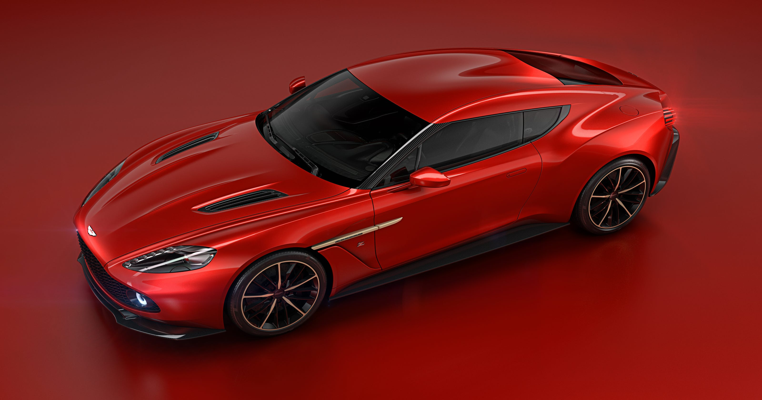 Aston Martin Reveals Zagato Design For New Concept Car - Aston martin concept