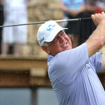 Mark O'Meara will be back at the Bass Pro Shops Legends of Golf at Big Cedar Lodge, teaming with Colin Montgomerie in the Champions Tour event.