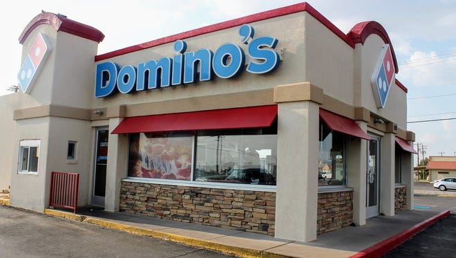 Domino's Pizza, 100 S. White Sands Blvd., is partnering with the American Red Cross to raise money for its Hurricane Harvey relief efforts today.