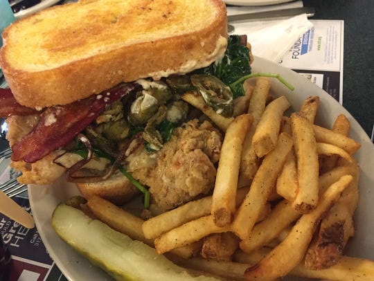 The Big Bern tenderloin sandwich at Metro Diner, 3954