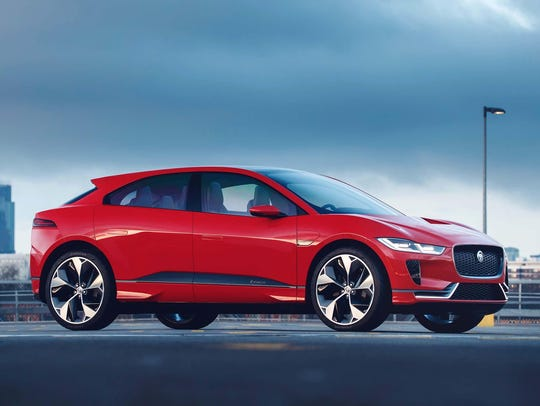 The Jaguar I-PACE electric vehicle is due to be in