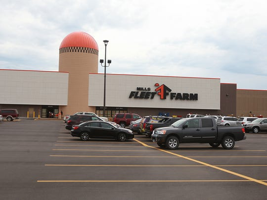 Mills Fleet Farm has 35 stores in the upper Midwest.