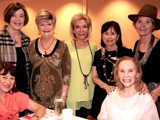 Aviva Snow, Marie Straube, Toni Johnson, Sheri Neff, Rhoda Rabinovitch, Judy Sweetman and Ila Lauter played canasta in support of local cancer patients.