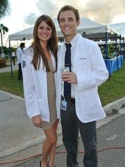 Kristen and Jacob Sandoz graduated from American University