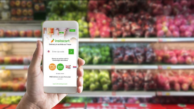 Grocery delivery service Instacart, which recently expandedto the Mansfield area,provides delivery from retailers including Kroger, CVS Pharmacyand Petco.
