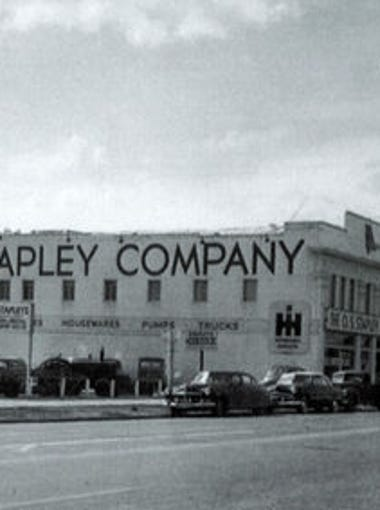 The O.S. Stapley buildings, shown in their heyday,