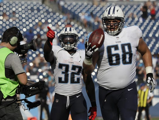 Tim Lelito (68) signed with the Tennessee Titans in