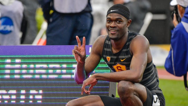Benjamin consulted with his coaches and his mother, who lives in Mount Vernon, before finally deciding to turn pro. Former Mount Vernon star Rai Benjamin after setting an NCAA record in the men's 400-meter hurdles Friday