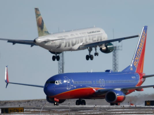 Southwest Airlines, Frontier Airlines