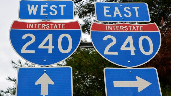 The state Department of Transportation plans to eventually widen Interstate 240 in West Asheville as part of the I-26 Connector project, but no timetable for that part of the project has been set.