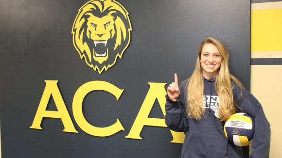 Asheville Christian Academy senior Taylor Robinson has been a NCISAA 2-A all-state basketball and volleyball player for the Lions.