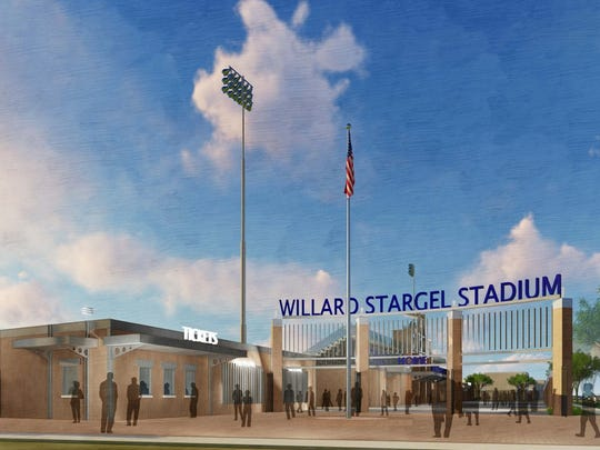 New Stargel Stadium, gate