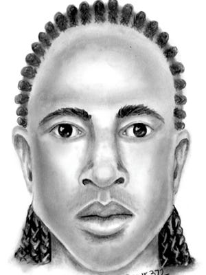 Mesa police are asking for the public's help to identify a man in his mid-20s who is 5 feet 11 inches tall and 150 pounds.