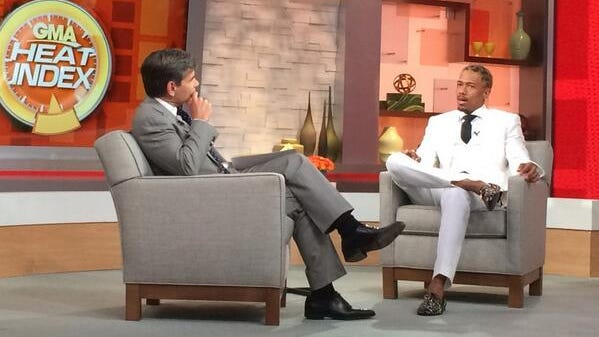 Nick Cannon talks to George Stephanopoulos on Monday's 'GMA' show.
