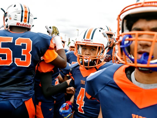 William Penn football players return to the field for