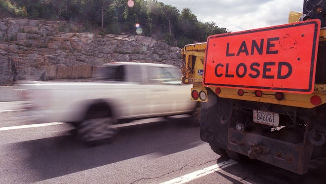 With road work picking up, drivers are reminded fines are doubled for speeding in a construction work zone.